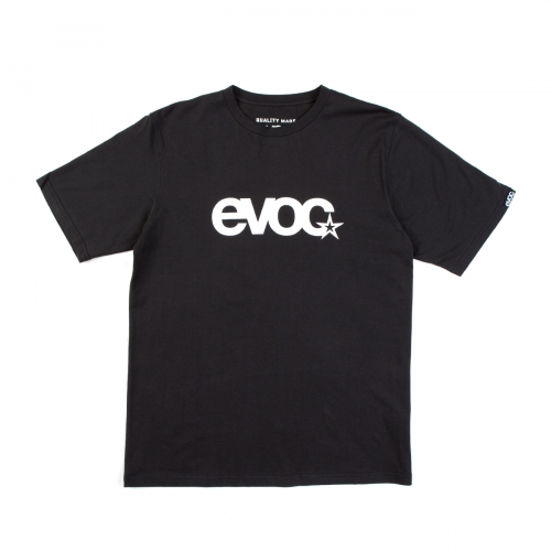 EVOC T-SHIRT LOGO MEN BLACK