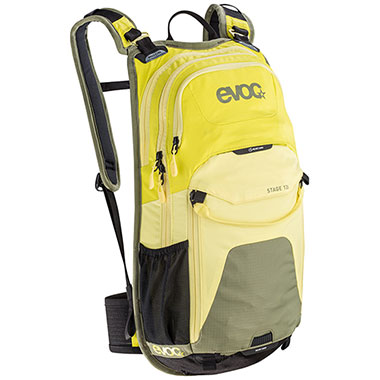 EVOC STAGE 12L (SULPHUR/YELLOW/OLIVE)