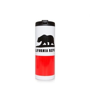 [TRAVEL MUG]CALIFORNIA FLAG -New