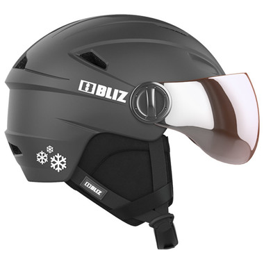 BLIZ JET Jr. Visor (Black)