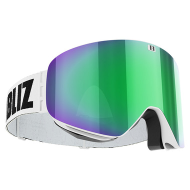 BLIZ FLOW (WHITE) - Green multi + Pink