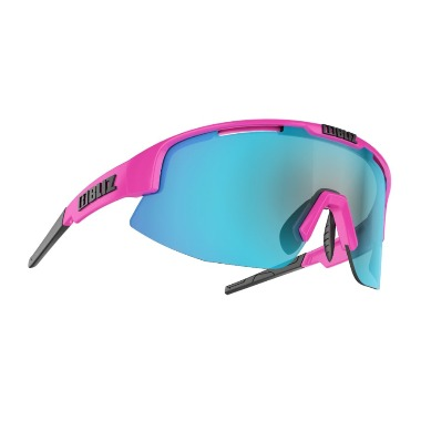 [52904-43] Matrix (Pink) - Smoke w Blue Multi