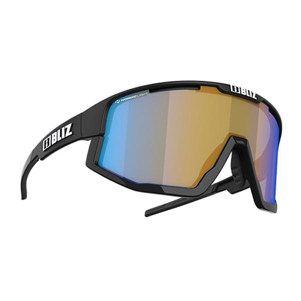 블리츠 선글라스 비전 BLIZ VISION_MATTE BLACK/CORAL W BLUE MULTI NORDIC LIGHT_S52101-13N